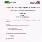 certificaat NAO